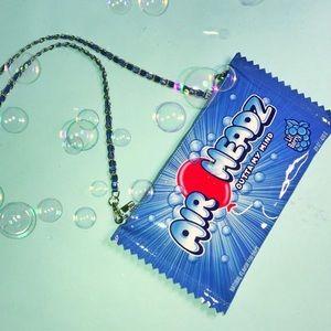Blue berry crossbody bag (Never Worn)